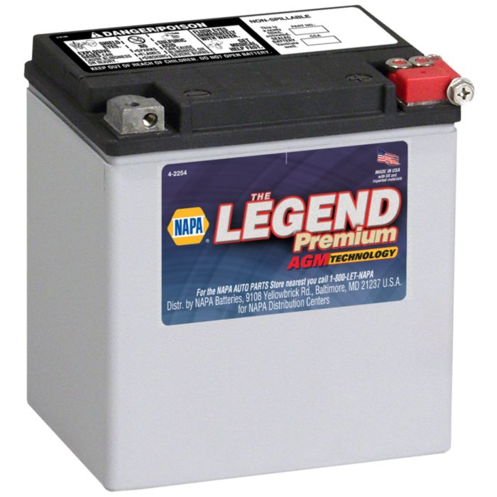 Nearest Battery Store >> Battery Rugged Parts Power Sport Legend Premium Agm 12 Volts 400 Cca
