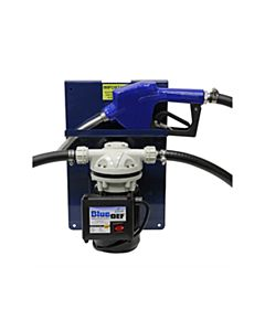 Diesel Exhaust Fluid (DEF) Stationary Dispenser w/ Pump & Nozzle 1/3 HP Diaphragm Pump Stainless Steel 7 - 9 gpm