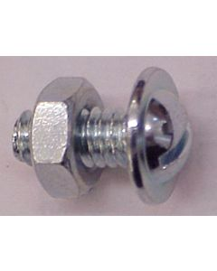 License Plate Bolts & Nuts