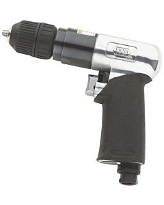 Air Drill, 3/8 in. Shank Variable Speed, 1,800 rpm, Jacobs Keyless Chuck