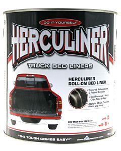 Bed Liner Coating Truck Bedliner - Herculiner Black Coating 1 GAL