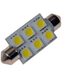 212 White 5050SMD 6LED Bulb