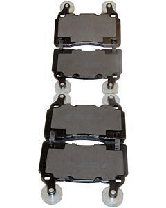 Brake Pads - Front, Ultra Premium - OE Semi-Metallic