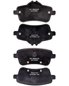 Brake Pads - Rear, Ultra Premium - OE Semi-Metallic