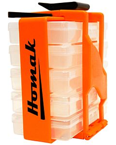 Tool Organizer 8 in. Portable Parts Organizer
