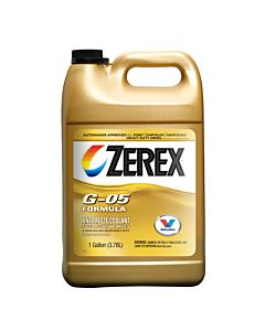 Zerex G-05 Yellow Concentrate Antifreeze - 1 gal